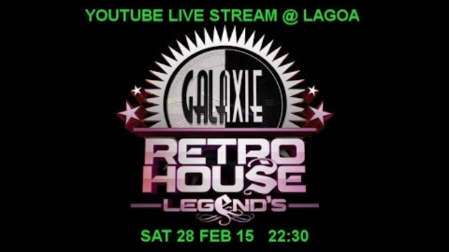 GALAXIE RETRO HOUSE LEGEND'S 12 @ LAGOA 28/02/15